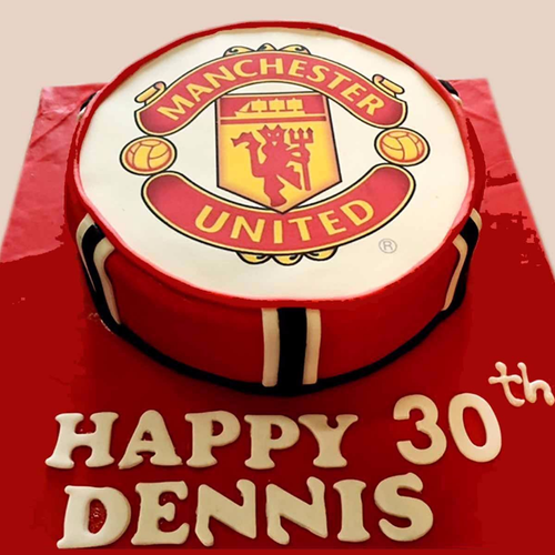 9+ Manchester United Cake Ideas