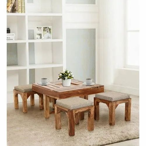 Coffee Table With Stools.Tyson Coffee Table With Four Stools By Trendsbee