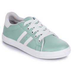 Women and Girls Synthetic Leather Casual Shoes, Size: 36-41