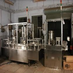 Powder Filling Machine, Rubber Stoppering and Cap Sealing Machine