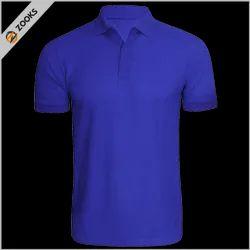 18 Colors Collar Honeycomb Matty T Shirt 150 GSM, Size: S - XXL