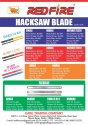 Redfire Hacksaw Blade