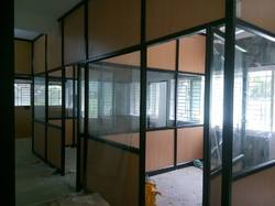 Full Height Wall Aluminium Panel Partition