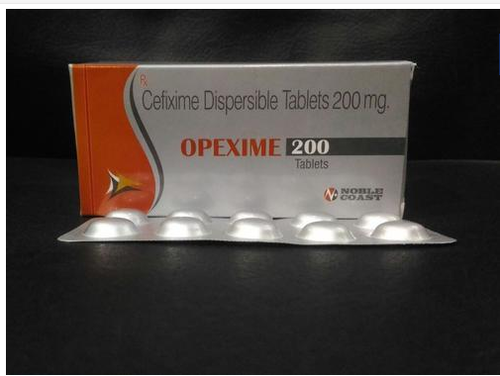Cefixime - 200 Mg. Tablets