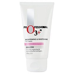 O3 Brightening & Whitening Face Wash with Cucumber and Aloe Vera Extracts (100 GM)