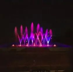 Floating Musical Fountain