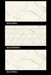 GLO 1075 Bathroom Wall Tiles, Thickness: 5-10 mm