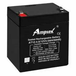 Amptek SMF Industrial Battery 12V4.5, Weight: 1.40kg