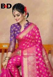 Ladies Designer Cotton Silk Saree