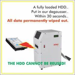 HDD Degausser Machine
