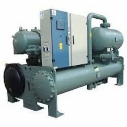 Three Phase Mild Steel York Water Cooled Centrifugal Chiller