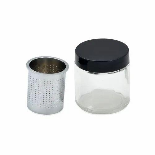 Diamond Washing Jar With Cleaning Glass