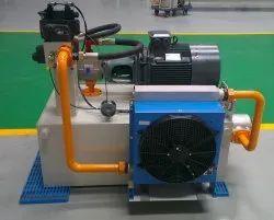 50Hz Mild Steel Hydraulic Power Unit, For Industrial, 415