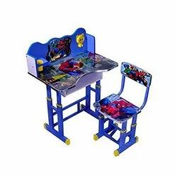 Wooden Kids School Table And Chair Set