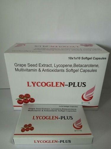 Grape Seed Extract Lycopene Betacarotene Multivitamin & Antioxidants Softgel Capsules