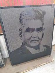 Granite Engraving Photo Frame