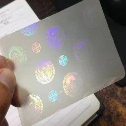 Tamper Evident Hologram Stickers