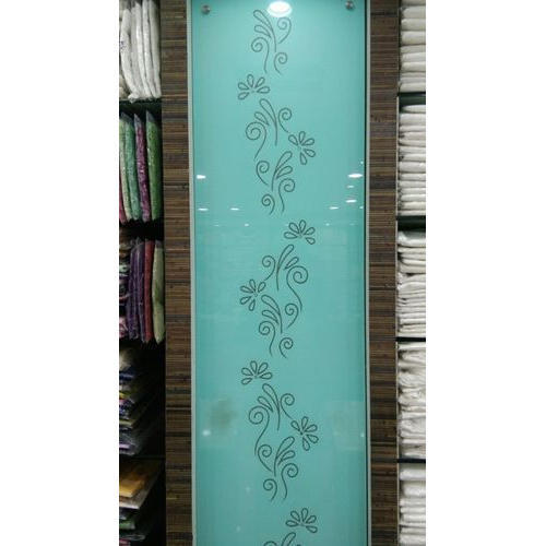 Designer Lacquered Glass, Shape: Rectangle