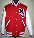 Scarlet White Varsity Jacket