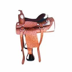 Printed Design Horse Saddle