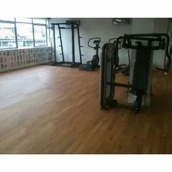 Wooden Vinyl Flooring Sheet, For Gym, Thickness: 1.5 Mm