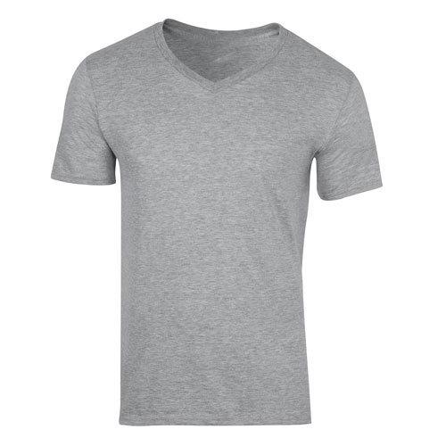 b9c43acb1af Medium And XXL Cotton Men Grey V Neck T Shirts