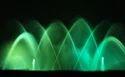 Green Dancing Musical Fountain