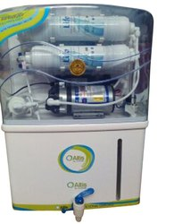 Blue Wall Mountable RO UV Water Purifier, For Home, Features: Auto Shut-Off