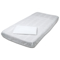 Albio Disposable Non Woven Bed Sheet 20 GSM 36x72 -White