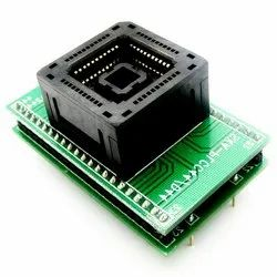 PLCC44 to DIP44 IC Test Adapter
