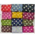 Rayon Gold Goli Print Fabric