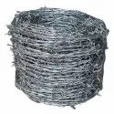Silver 2 Mm Galvanized Barbed Wire