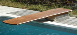 Wooden Diving Boards, Size: 8 and 15 ft
