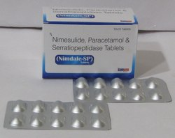 Nimesulide 100mg Paracetamol 325 mg Serratiopeptidase 15 mg