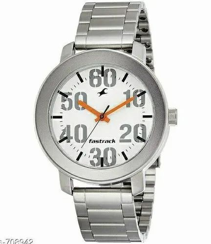 Fastrack Casual Analog White Dial Men' s Watch-NK3121SM01