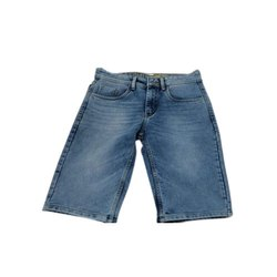 Asterek Men Denim Faded Short Jeans, Waist Size: 30-40