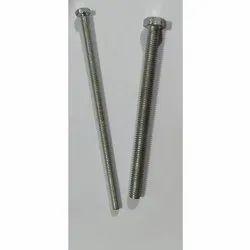 Mild Steel Full Thread Hex Bolt, Packaging Type: Bag