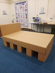 Furniture Made Of Corrugated Kraft Paper