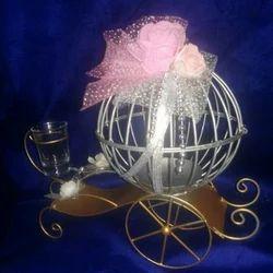 Golden & Silver Cast Iron Decorative Gift