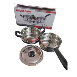 Sowbaghya Stainless Steel Induction Cookware Set, For Kitchen, Model Name/Number: Ultima