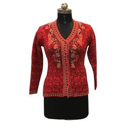 Ladies Full Sleeve Stylish Cardigan b3c16daef