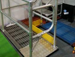 Aluminum Construction Safety Gates