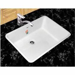 Orient White Bathroom Sink