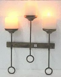 Aluminum Round Candle Stand
