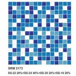 Sea Blue,Dark Blue Glass Mosaic Tile, For Walls,Interiors
