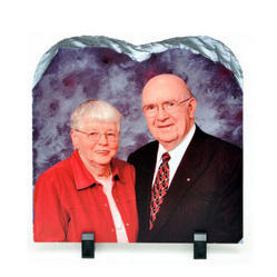 Couple Stone Glossy Frame