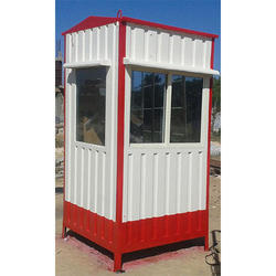 Color Coated Security Cabin