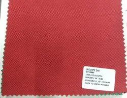 100% Polyester Lacoste Knit Fabrics 200 GSM