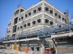 Garden Silk Mills Construction Project