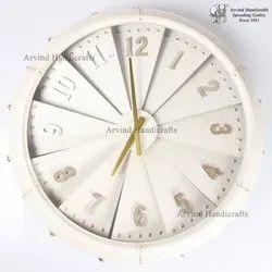 Arvind Handicrafts Decoration Iron Clock Wall Decor, Size: 25